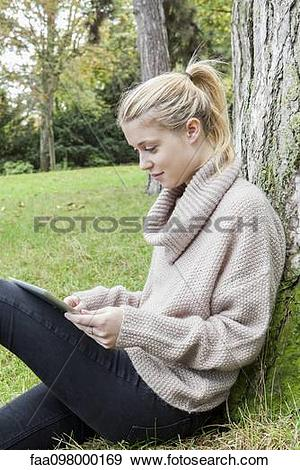 Stock Photograph of Bloggers enjoy the freedom of creating and.