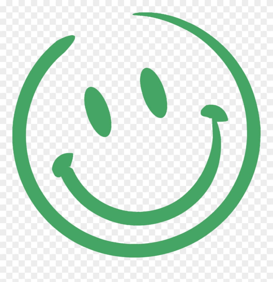 Happy Face Chalk Png.