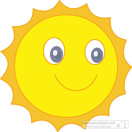 Enjoying the Sun Clip Art.