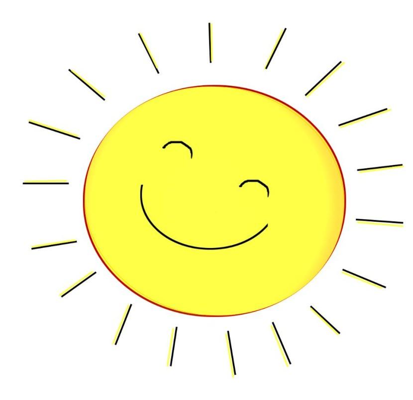 Enjoying the sun clip art clipart free download.
