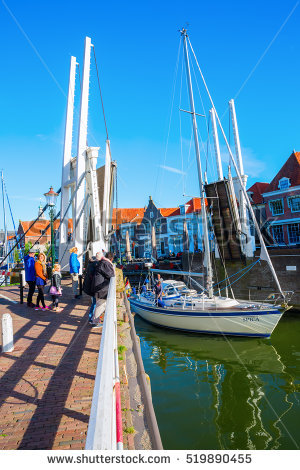 Enkhuizen Stock Images, Royalty.
