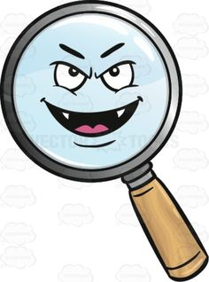 Angel Magnifier Emoji.
