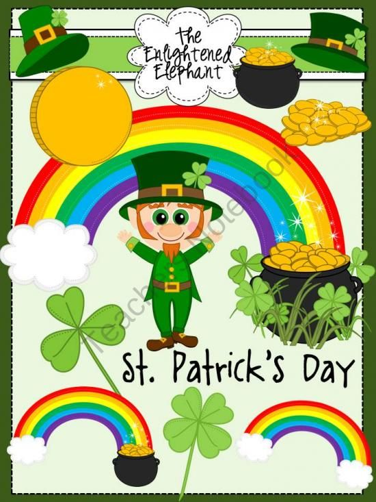 Leprechaun's St. Patrick's Day Clip Art product from The.