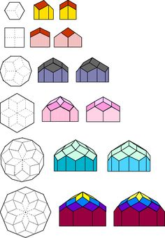 Buckminster Fuller Dome Drawings.