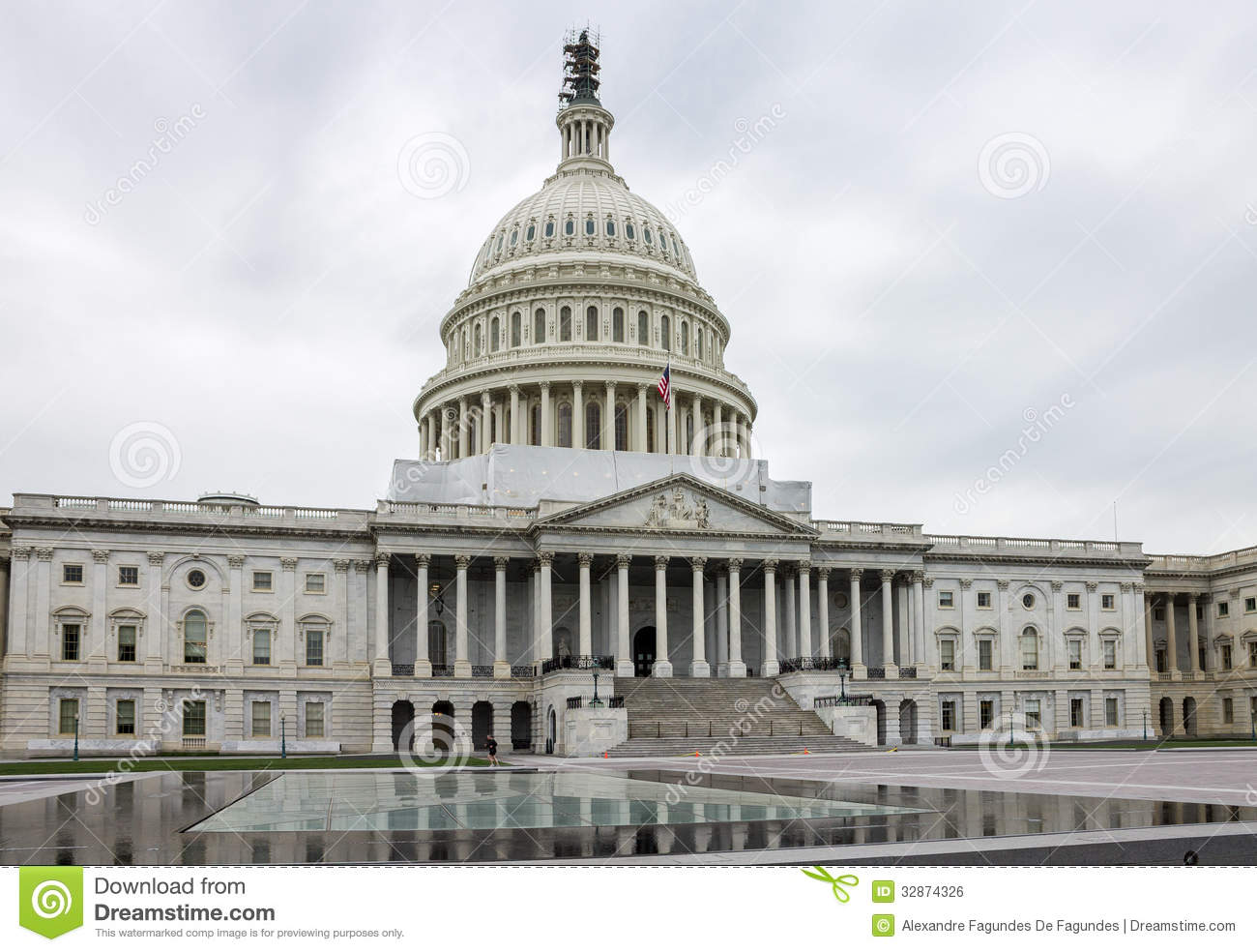 Congress Washington Royalty Free Stock Image.