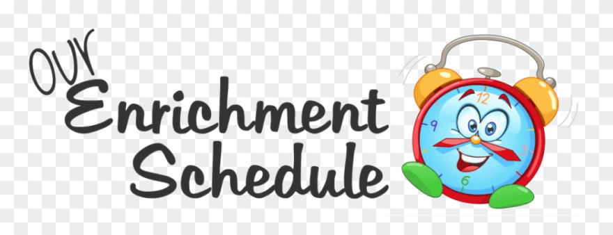 Image Result For Enrichment Schedule Clipart.