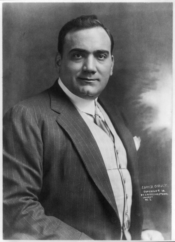 Enrico Caruso was an Italian operatic tenor. He sang to great.