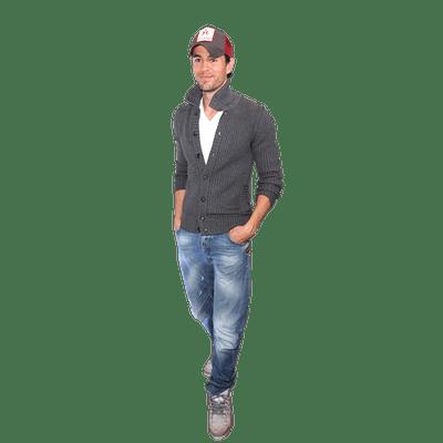 Enrique Iglesias Suit transparent PNG.