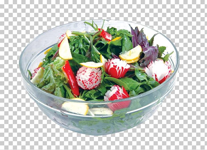 Ensalada de frutas de verduras, ensalada de verduras PNG.