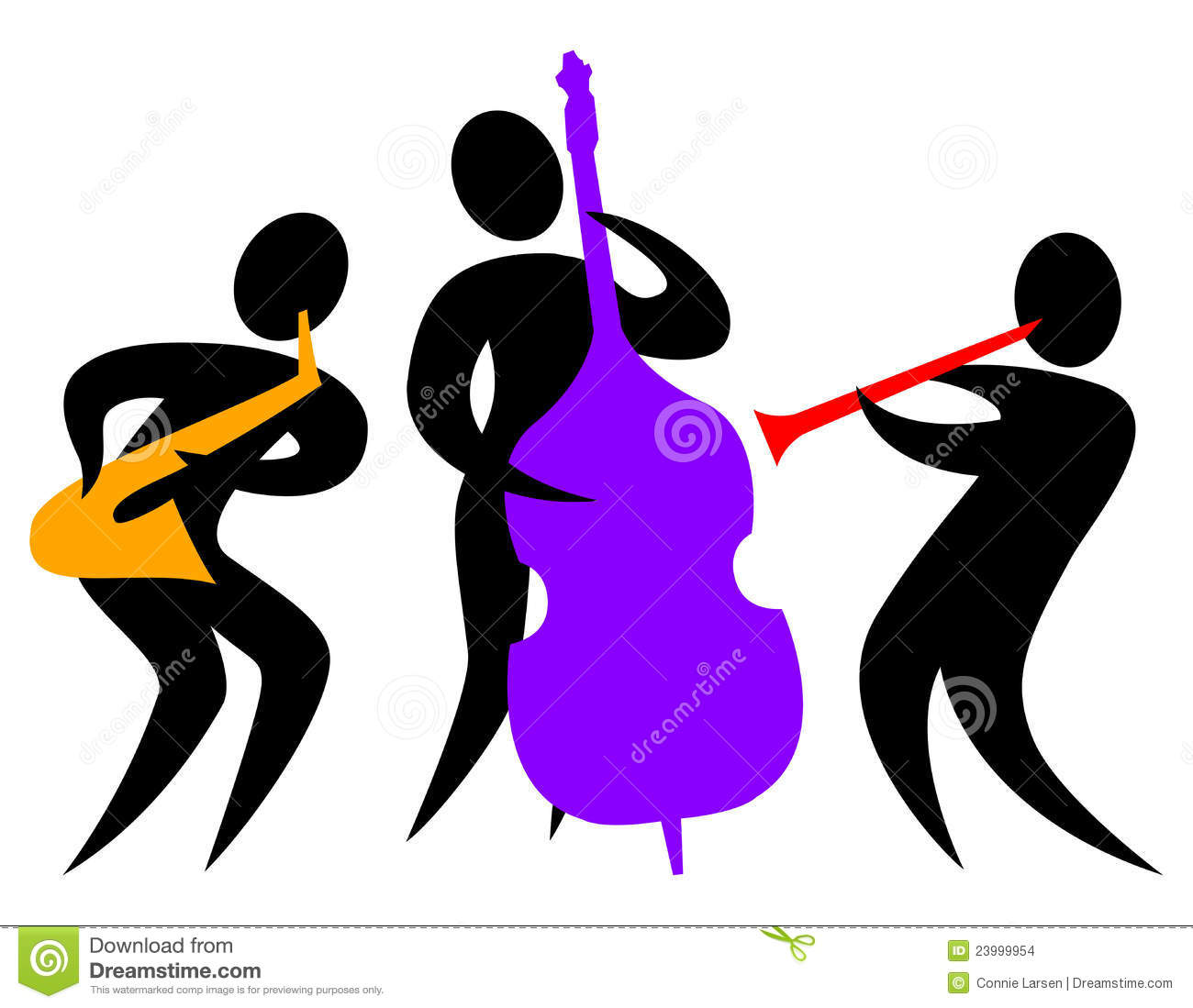Jazz Stock Illustrations.