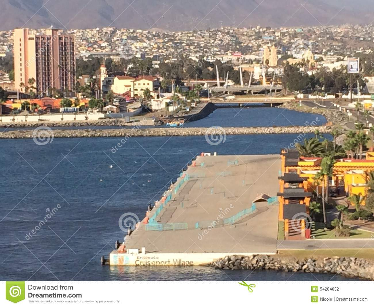 Ensenada Cruise Port Editorial Photography.