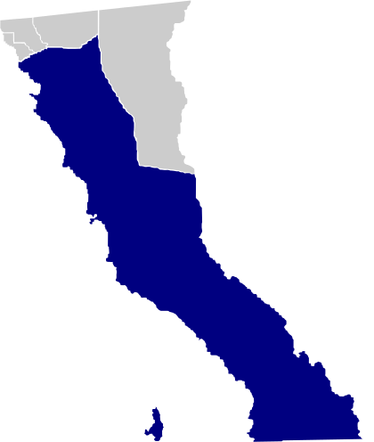 Municipalitatea Ensenada, Baja California.