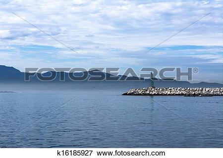 Picture of Ensenada breakwater k16185927.