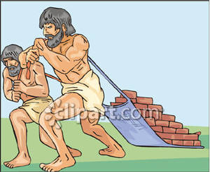 Egypt Slaves Clipart.