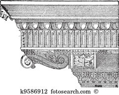 Entablature Clipart Illustrations. 17 entablature clip art vector.