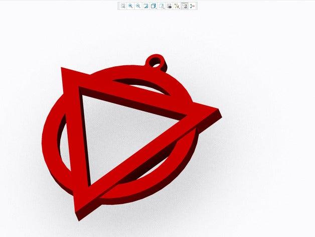 Enter Shikari Logo Keyring by Henz.