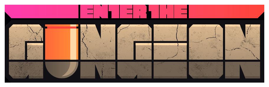 Enter The Gungeon Logo.