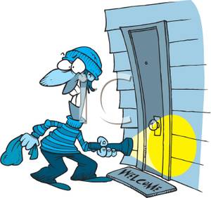 Breaking And Entering Clipart.
