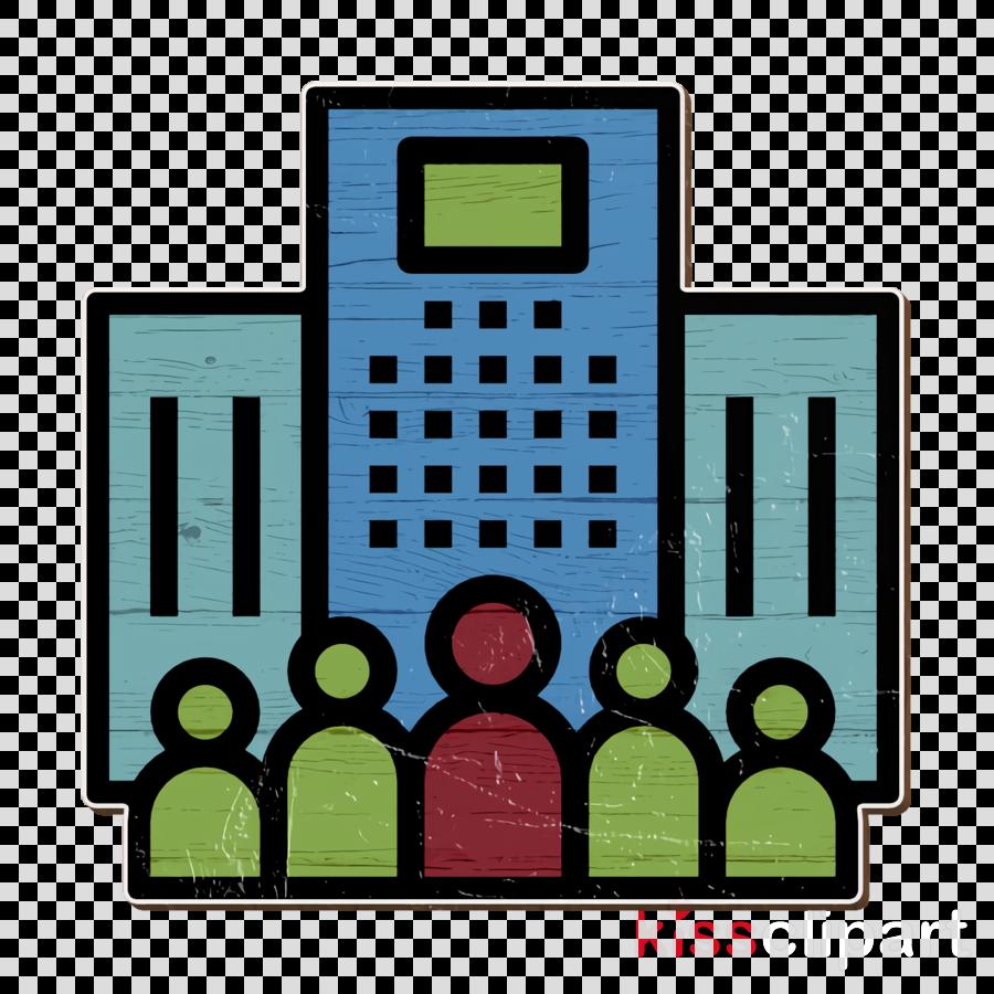 Work icon Stock Market icon Enterprise icon clipart.
