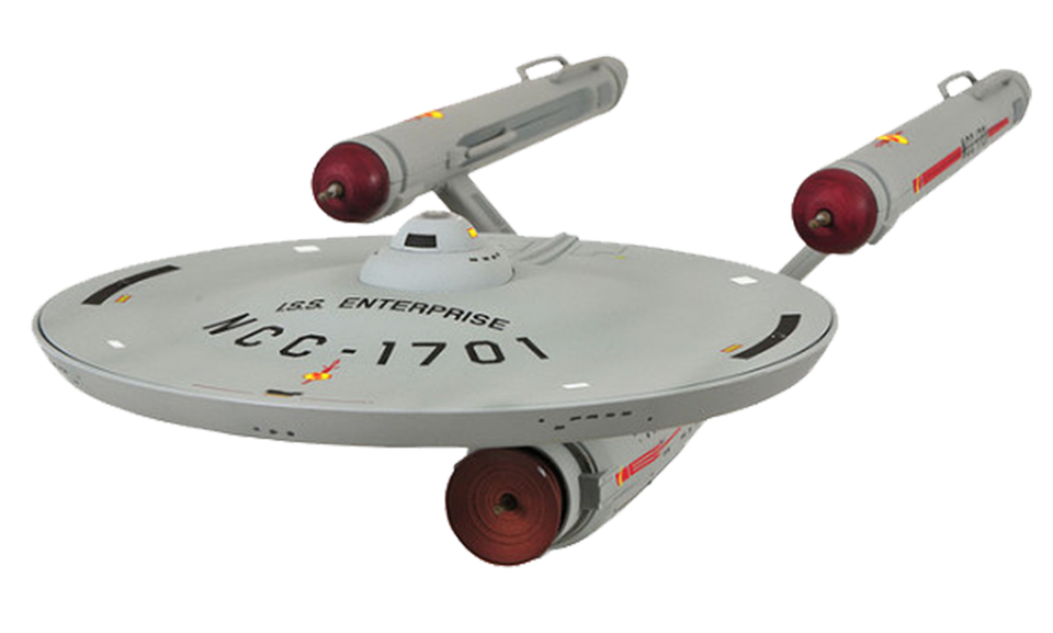 Spaceship Model Isolated.