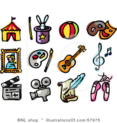 Entertainment Clip Art.