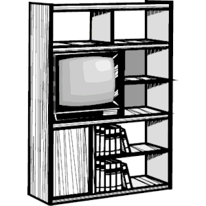 Entertainment Center clipart, cliparts of Entertainment.