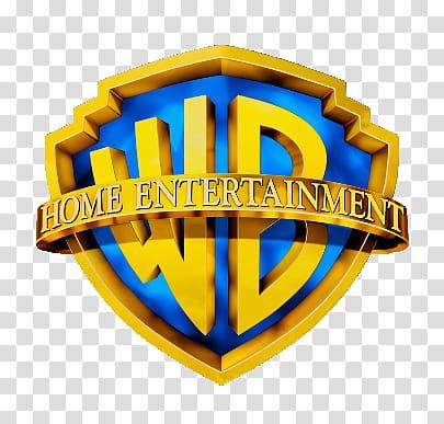 Warner Bros Home Entertainment Logo transparent background.