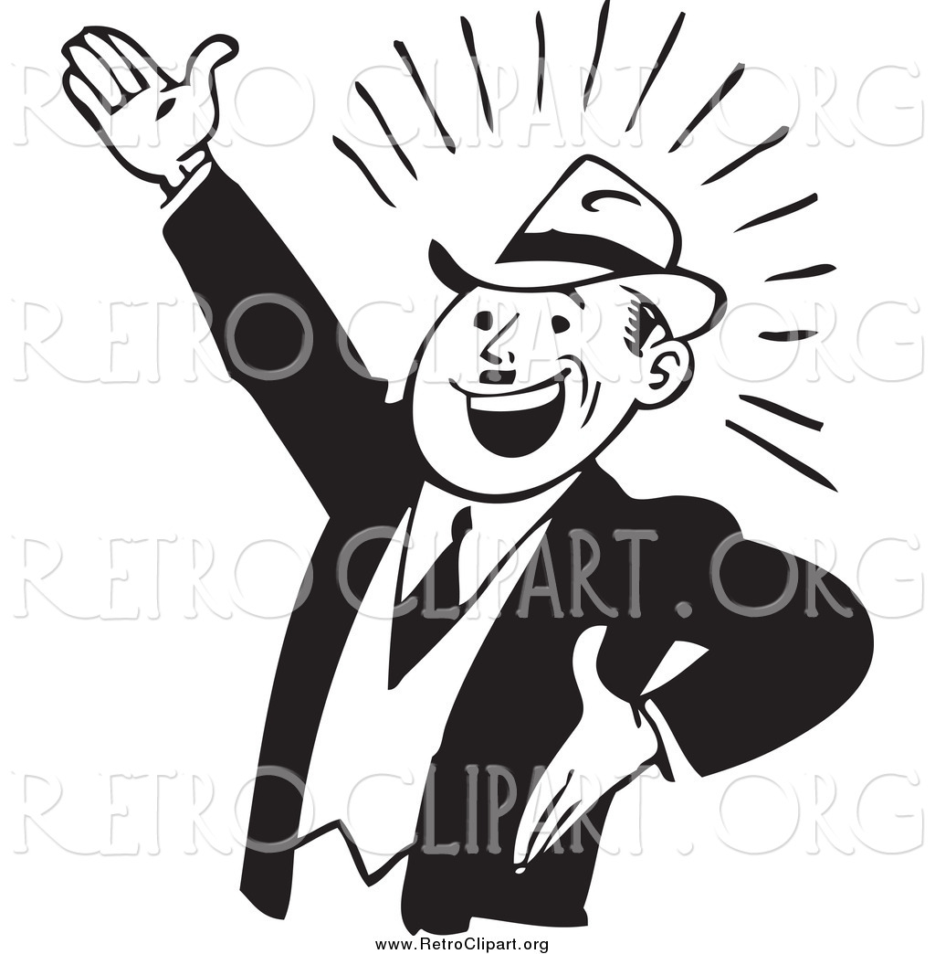 Enthusiastic clipart.
