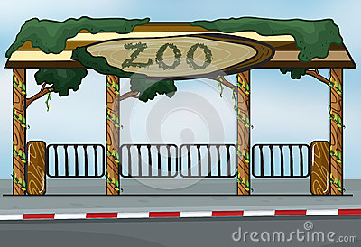 Zoo Entrance Clipart.