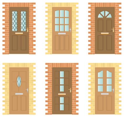 Front Door Clip Art, Vector Images & Illustrations.