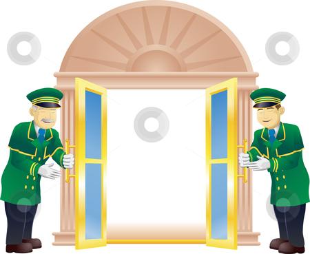 Open Front Door Clipart.