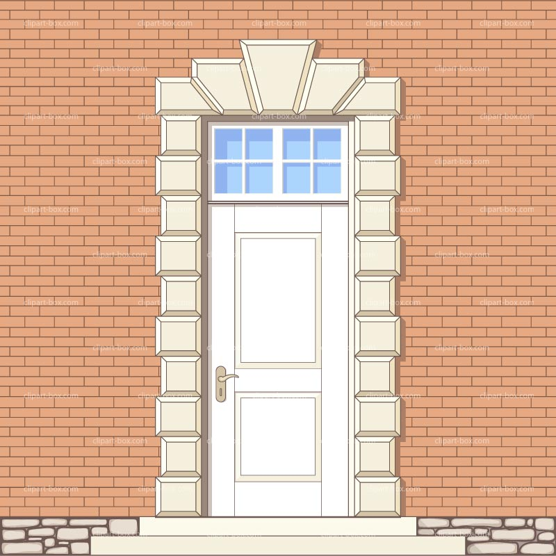 CLIPART FRONT DOOR.