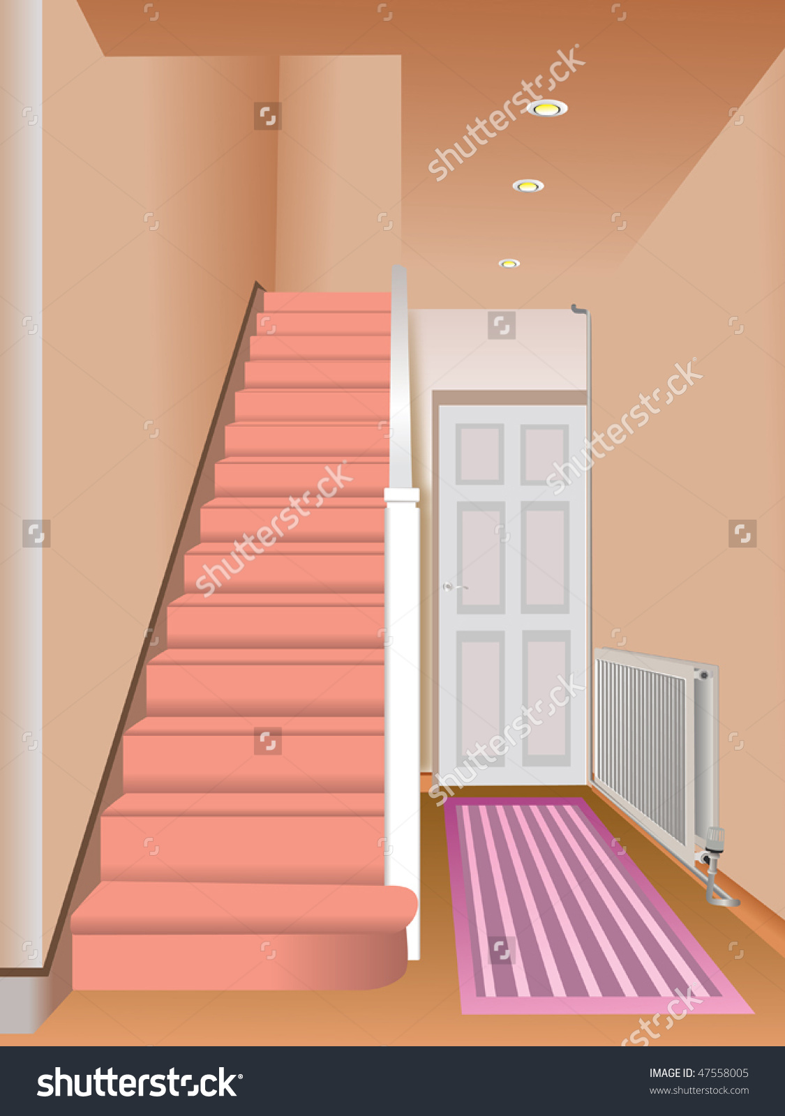 Entrance hall clipart clipground for Drawing hall interior