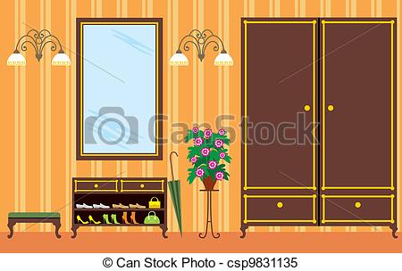 Entrance hall Clipart Vector and Illustration. 872 Entrance hall.
