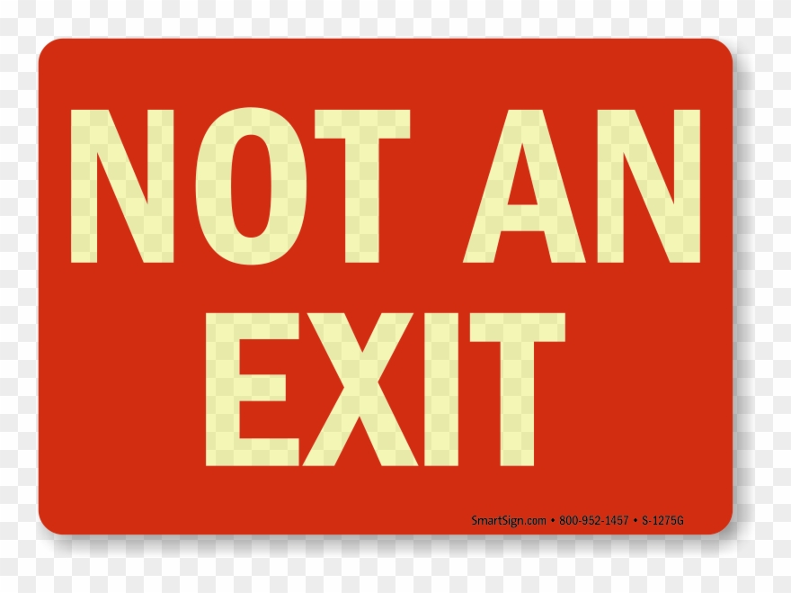 Free Printable Exit Signs Arrow Right Entrance Sign.