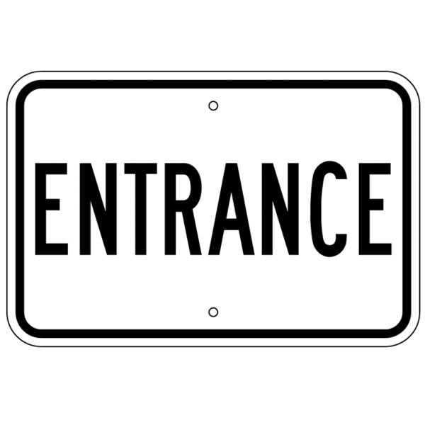 Entrance Sign.