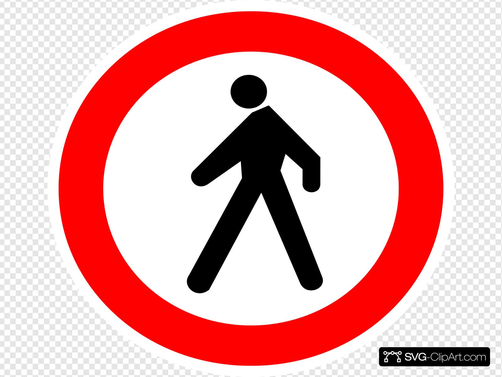 No Entrance Sign Clip art, Icon and SVG.