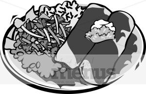 Mexican Entree Clipart.