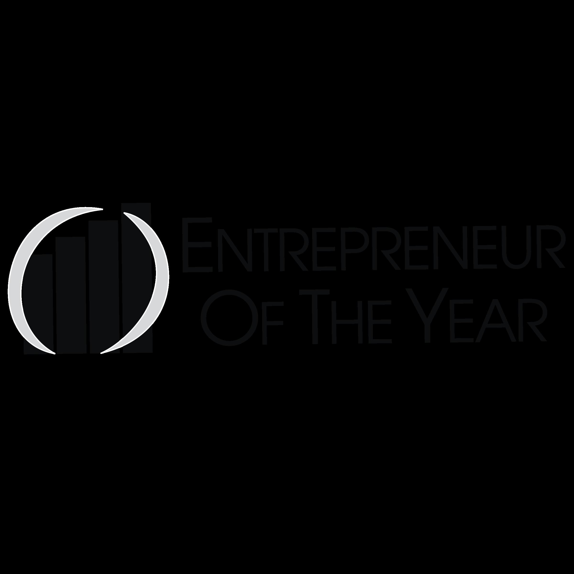 Entrepreneur Of The Year Logo PNG Transparent & SVG Vector.