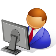 Computer Data Entry Clipart.