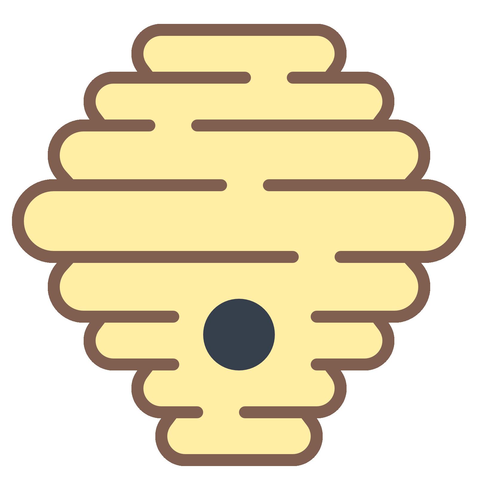 Hornet Hive Icon.