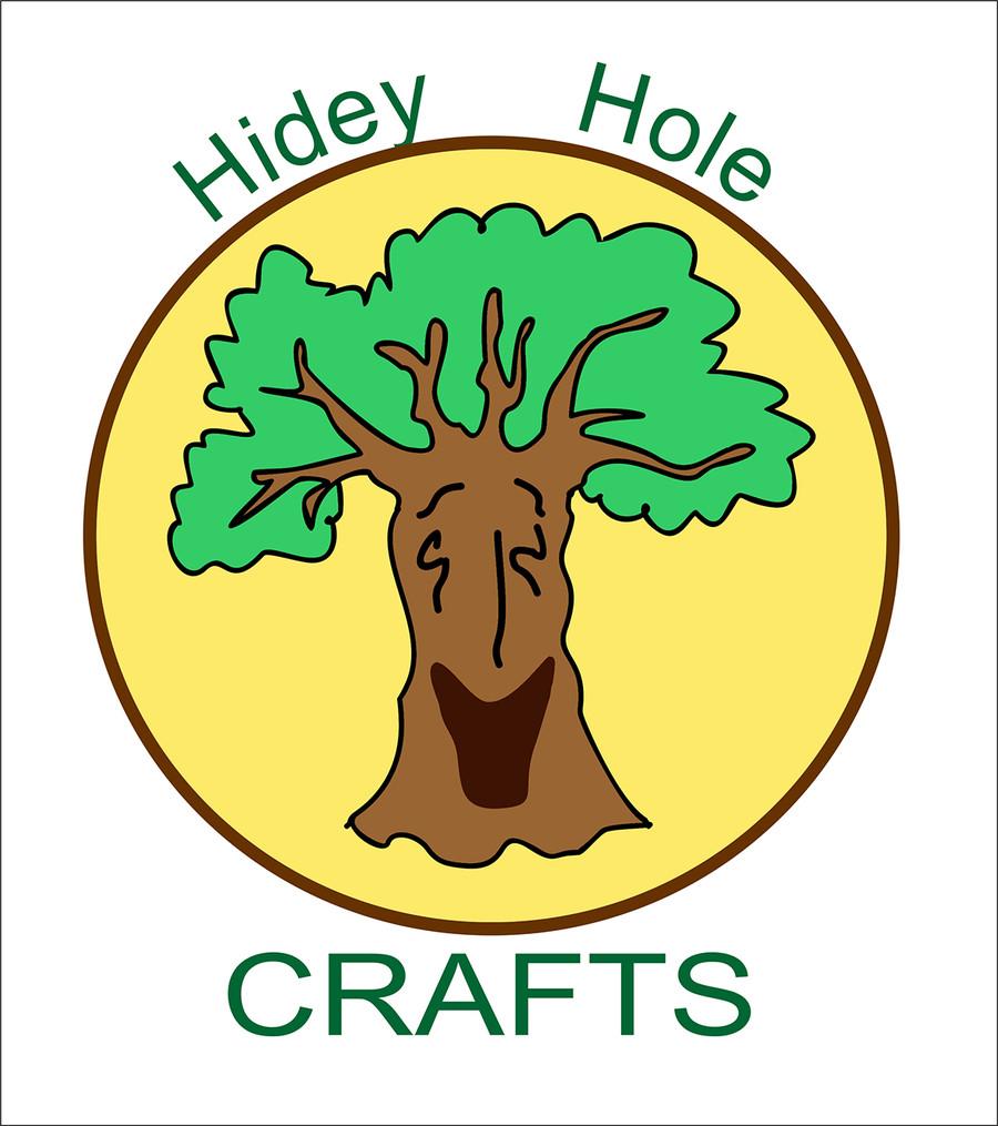 Entry #6 by klakornikola for Design a Logo for Hidey Hole Crafts.