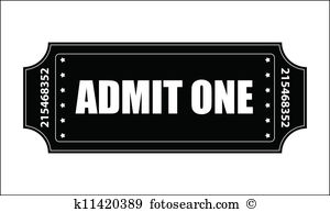 Entry ticket Clipart Royalty Free. 1,626 entry ticket clip art.