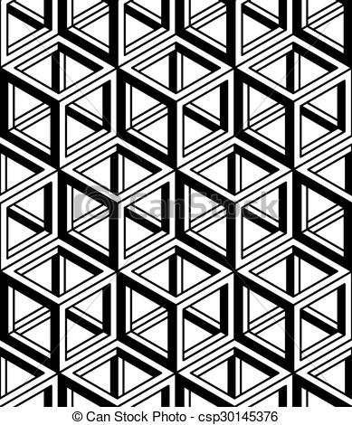 Vectors Illustration of Contemporary abstract vector endless.