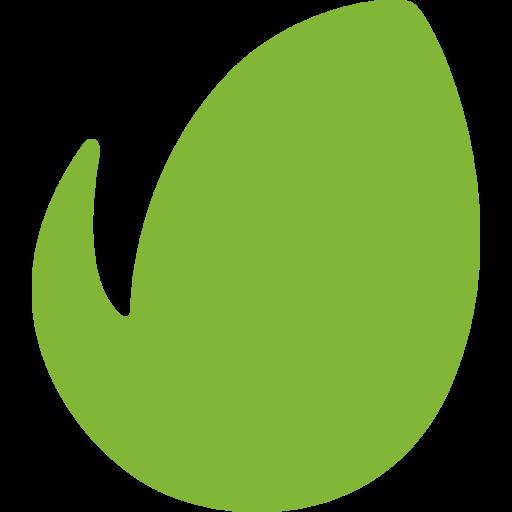 Envato Logo Icon of Flat style.