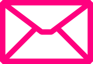 Pink Envelope Clip Art at Clker.com.
