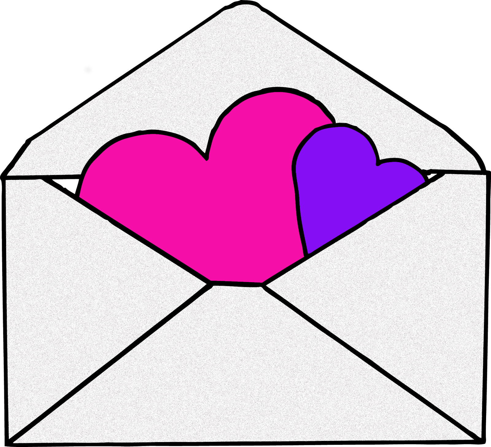 Cute envelope clipart.