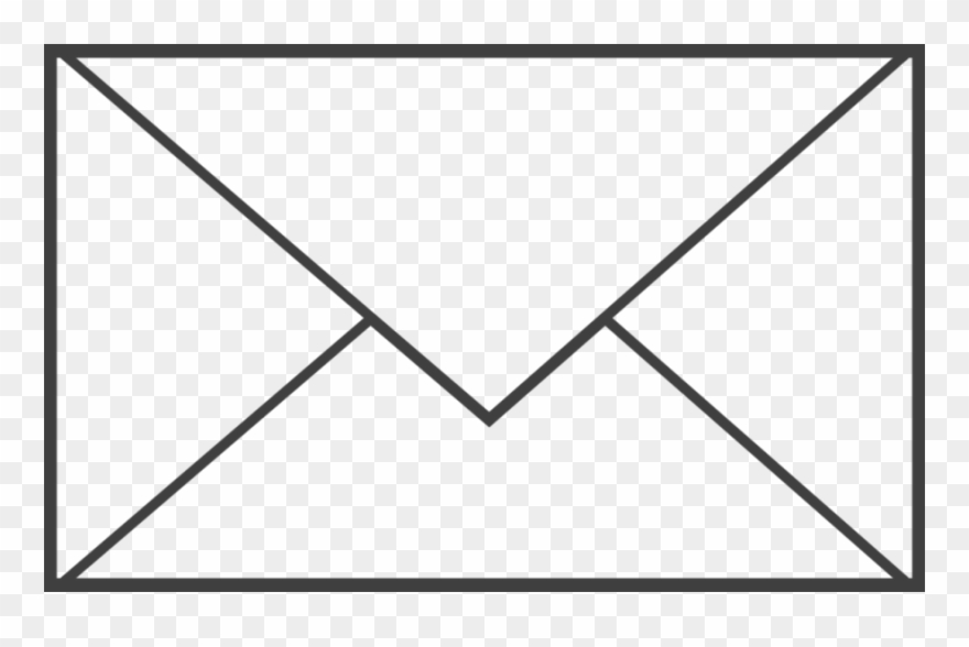 Black And White Picture Of Envelope Clipart Envelope.