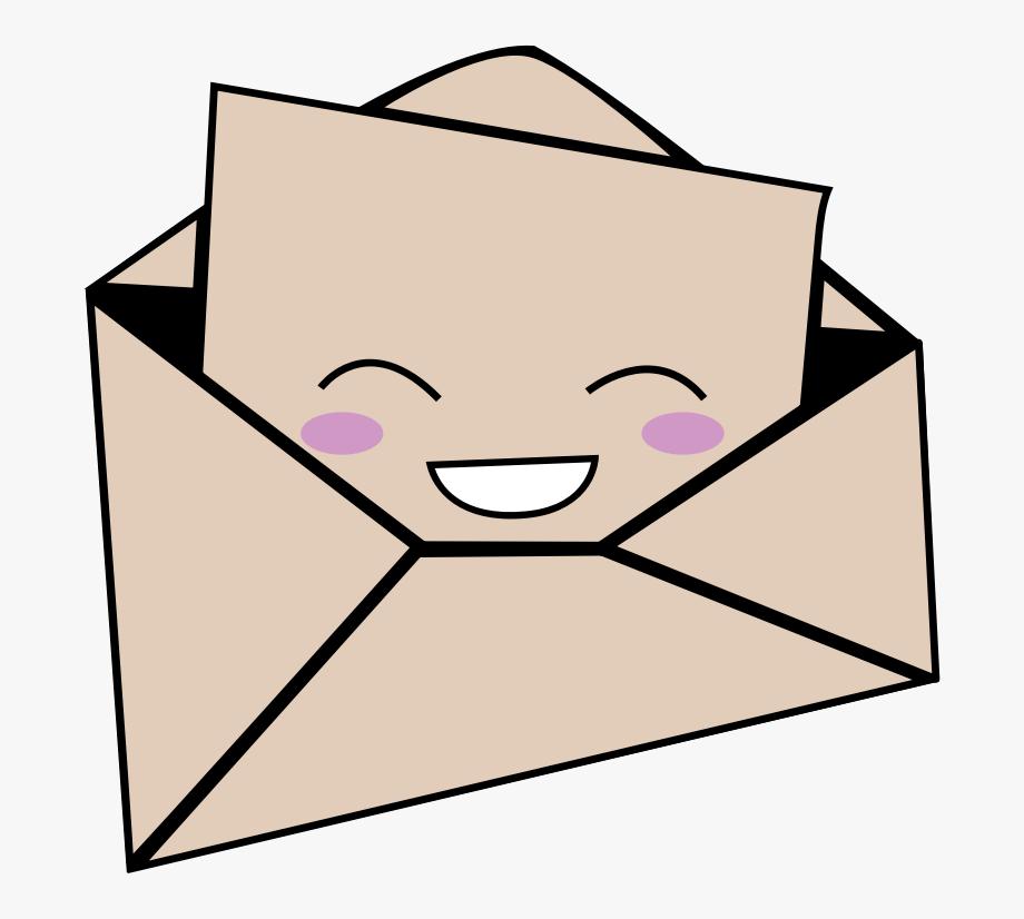 Cartoon Envelope Clipart , Transparent Cartoon, Free.