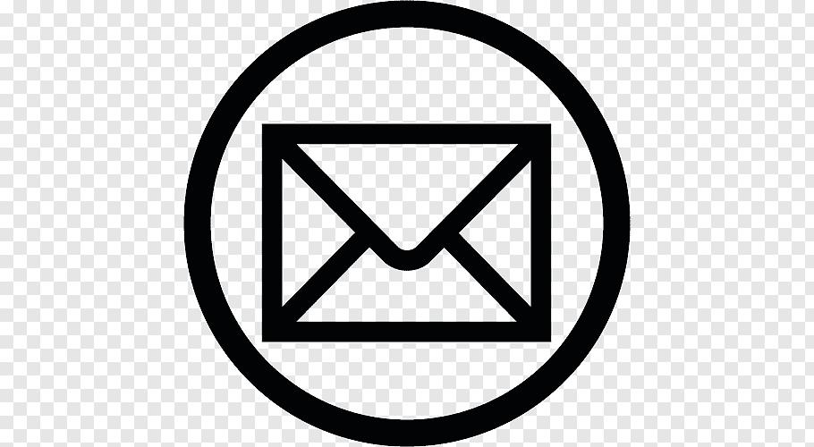 Email Logo Icon, Email, black envelope logo free png.